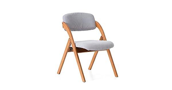 Amazon.com: yxwyz mesas plegables silla hogar madera maciza ...