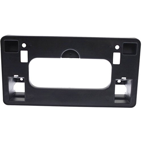 Honda Bracket - License Plate Bracket for Honda Civic 06-08 Front Textured Black Sedan