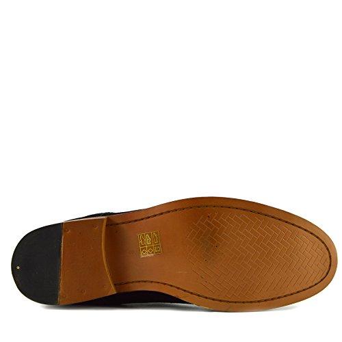 Mens Deserto Suede Suede up Stivali Moda Piedi a Caviglia Nuovo di Casual Scarpe Leather Lace Black d6x5Tza