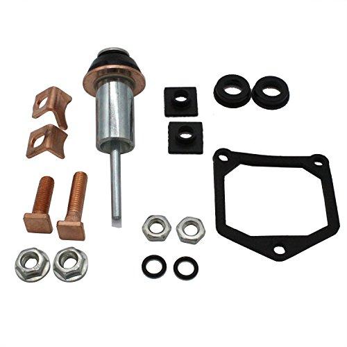 TAKPART Starter Solenoid Repair Rebuild Kit 053660-7120 for Denso Toyota Subaru