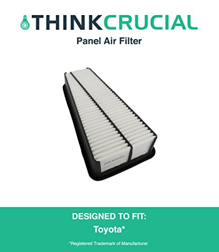 Panel Air Filter Fits Toyota Truck 4RUNNER, Toyota Truck Tacoma, Toyota Truck Tundra & More, Compare To Part # A35578 & CA9683, Designed & Engineered By Think Crucial