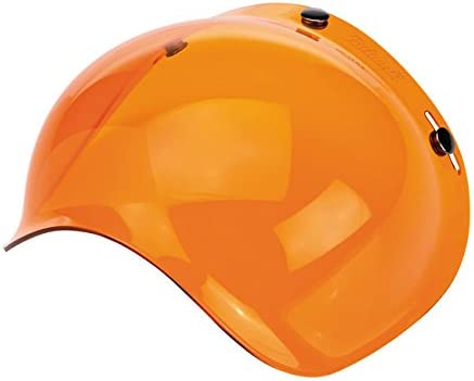 Visier Blister Bubble Biltwell Bernstein Amber Solid X Helme Helm Motorrad Biltwell Bell DMD Bandit Yam AFX Nolan AGV Vell