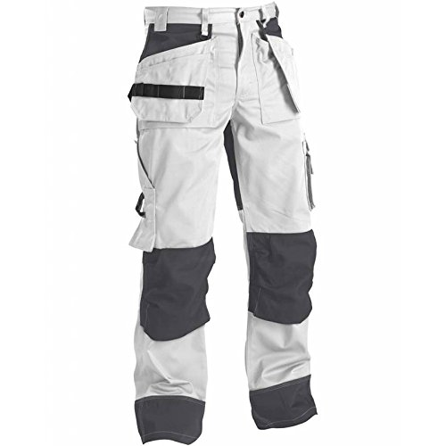 In White//Grey 150318601094D96 Trousers Size 34//30 Metric Size D96