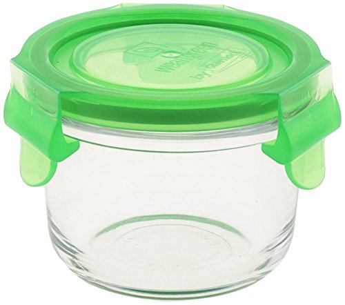 wean green glass baby food storage containers wean bowl 5 4 ounces pea buy online in uae. Black Bedroom Furniture Sets. Home Design Ideas