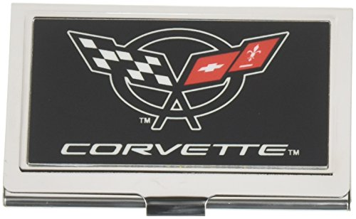 Buckle-Down Business Card Holder - Corvette Black/White/Red - (Pet Business Cards)