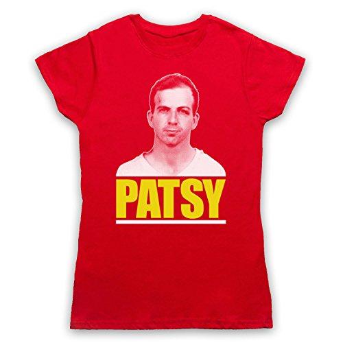 Lee Harvey Oswald Patsy Camiseta para Mujer Rojo