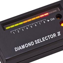 Luckystone Jewelry Diamond Tester Selector II Tool LED + Jewelry Loupe