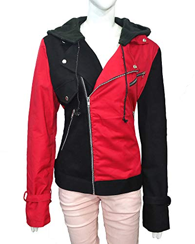 Yantin Harley Quinn Women Costumes Jacket – Suicide Squad Jacket ►HQ Bomber Collection◄ (Medium, Cotton Jacket) ()
