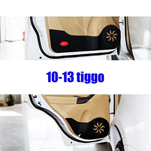 LUVCARPB Car Door Anti-Kick Pad Stickers,Fit for Chery Tiggo 2 3 5 7 FL Chery A13 Celer