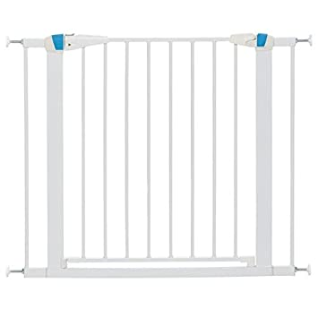 Amazon.com : MidWest Homes for Pets Walk-Thru Steel Pet Gate w ...