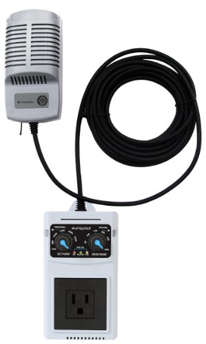 Controller Ppm Co2 (Hydrofarm APCECO Analog CO2 Controller with Remote Probe, Grey)