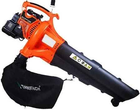Timbertech - Aspirador de jardin soplador de hojas a gasolina 750 W, velocidad máx. del aire: 250 km/h: Amazon.es: Bricolaje y herramientas