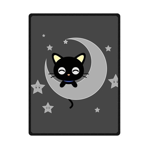 "High Quality And Comfortable Chococat Custom Blanket 58"" x 80"" (Large)"