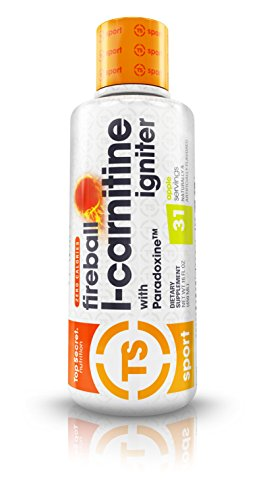 Fireball L Carnitine Liquid w/Paradoxine (16 oz) Cherry