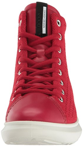 Sneaker Soft Women's Chili Red Chili Red Fashion 3 ECCO xCIqdOww
