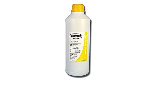Tinta Pigmentada para plotter compatible Epson Litro amarillo: Amazon.es: Electrónica