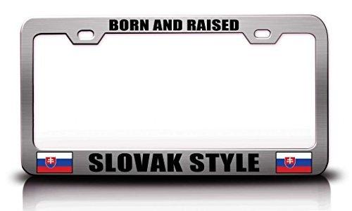 license-plate-covers-hofer-last-name-ancestry-metal-chrome-tag-holder-license-plate-cover-frame