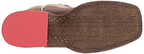 Ariat Womens Circuit Femme Savane Botte Western Patiné Marron / Brillant Aztèque