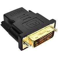 Adaptador DVI-D Macho para HDMI Femea