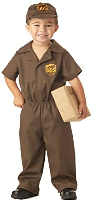 UPS Guy Boy's Costume