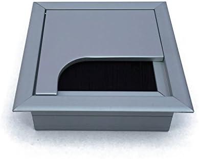 Mprofi MT/® Kabeldurchf/ührung Kabeldurchlass aus Metall 80X80mm ALU KD011
