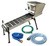"""Highbanker Kit 48"""" Complete with Hopper Box, Stand, Hoses, Adapters - Gold Mining Equipment"""