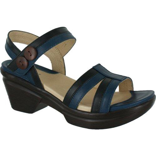 Sanita Women's Sienna Mule,Hydra/Black,41 EU/10 M US Womens Sienna Strap Sandal