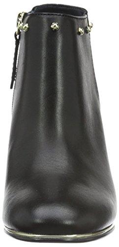 Tommy Hilfiger D1285enise 8c - botas de caña baja para mujer Negro (Black 990)