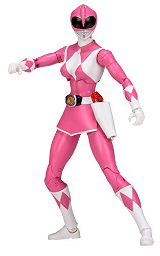 Mighty Morphin Power Rangers 6.5-Inch Pink Ranger Legacy Figure]()