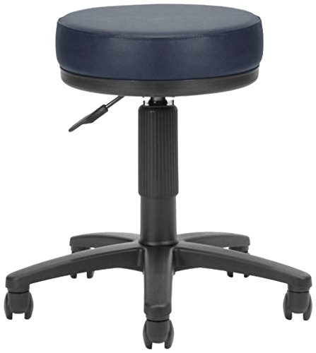 OFM Anti-Bacterial Utility Stool, Navy
