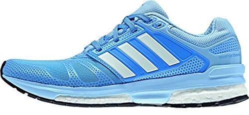 Adidas Response Revenge Boost Techfit 2 Womens Laufschuhe Blau