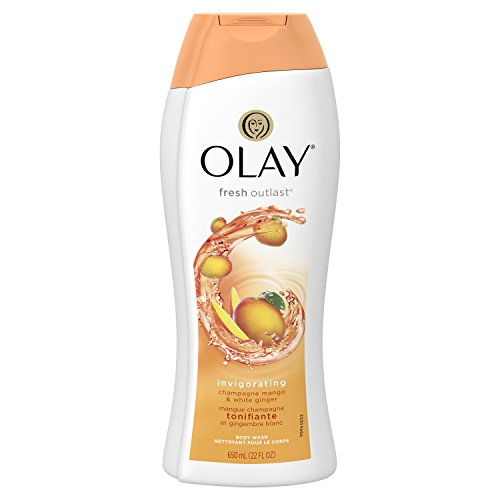 Ginger Hydrating Body Wash (Olay Fresh Outlast Invigorating Champagne Mango & White Ginger Body Wash, 22 oz)