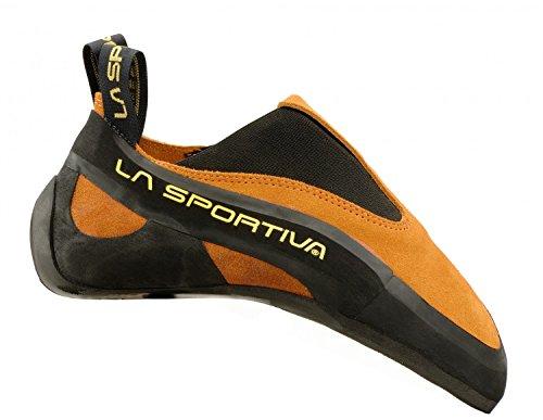 La Sportiva Cobra - Orange - EU 34.5 / UK 2+ / US M 3+ / US W 4+ - Sensibler präziser Kletterschuh