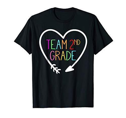 Team 2nd second Grade Teacher T-Shirt 1st Day of School