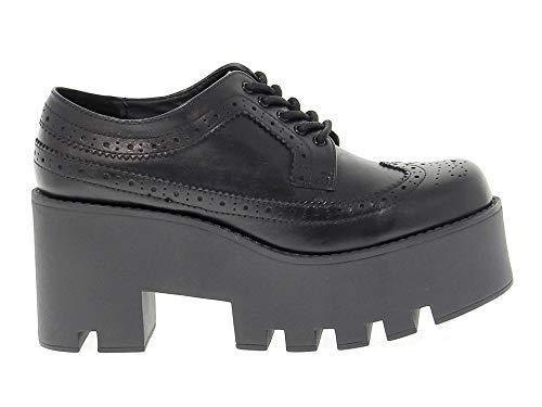 smith À Femme Lacets Noir WINDFOXY Windsor Chaussures Cuir vpPqwPf4