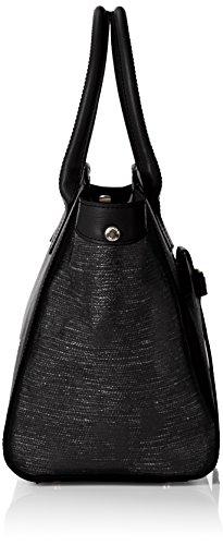 Tosca Blu Ginseng Tea - Bolso con asas Mujer Negro - Schwarz (BLACK C99)