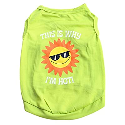 HOT SALE!!Woaills Small Dog Cat Vest T Shirt,Puppy Summer Shirt Clothes