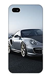Crooningrose Scratch-free Phone Case For Iphone 4/4s- Retail Packaging - Porsche 911 Gt2 Rs