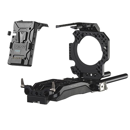 Ikan ES-T15-P Sony FS7 Camera Rig with Supply System (Black) by Ikan