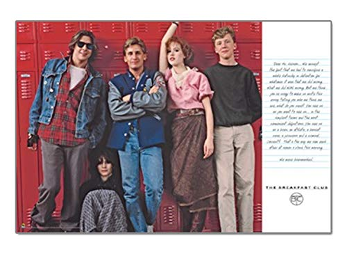 The Breakfast Club Movie Group Lockers Poster Print from RhythmHound