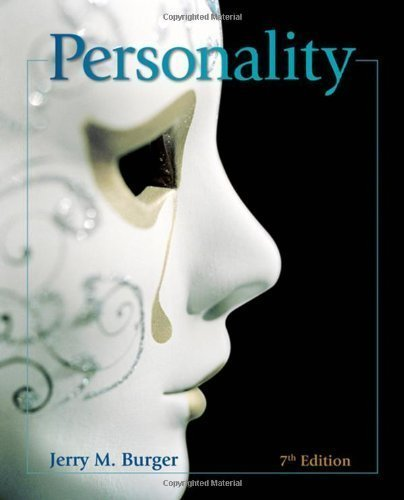 Personality by Burger, Jerry M. 7th (seventh) (2007) Hardcover