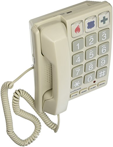 Cortelco 240085-VOE-21F 1-Handset Landline Telephone (Telephone Big Numbers compare prices)