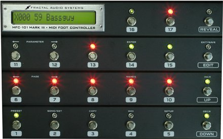 FRACTAL AUDIO SYSTEMS MFC-101 II