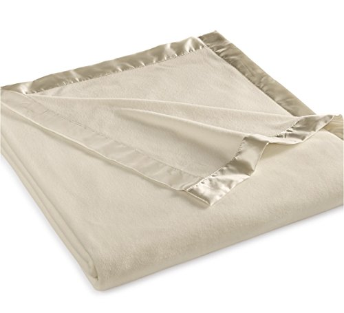 Martha Stewart Collection Soft Fleece Queen Blanket Bedding