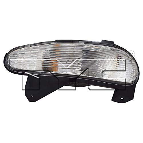 - CarLights360: Fits 2005 2006 2007 2008 2009 Buick LaCrosse Turn Signal/Parking Light Assembly Passenger Side (Right) NSF Certified w/Bulbs - Replacement for GM2521191