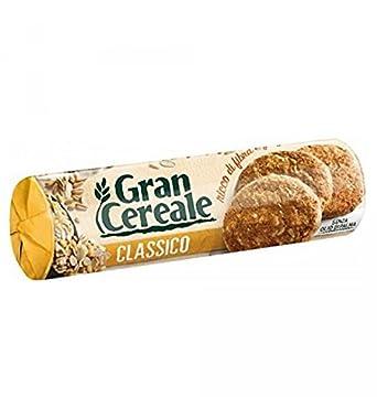 Mulino Bianco - Galletas clásicas Gran Cereale 250 gr (alrededor de 23 galletas)