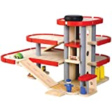 Plan Toys 4206007.0 - Garage in Legno