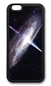 MOKSHOP Adorable cosmic quasar Soft Case Protective Shell Cell Phone Cover For Apple Iphone 6 (4.7 Inch) - TPU Black