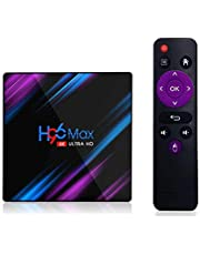 H96 MAX Smart TV Box Android 9. 0 RK3318 Android box 2. 4G&5G Wifi BT4. 0 4RAM-64ROM h96max