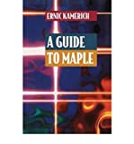 img - for A Guide to Maple(Hardback) - 1999 Edition book / textbook / text book
